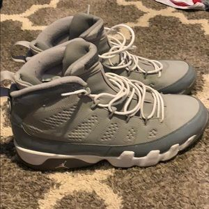 Size 11.5 Jordan Cool Grey 9's
